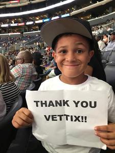 lashaun attended Los Angeles Sparks vs. Connecticut Sun - WNBA on Jul 13th 2017 via VetTix