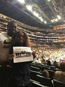 NICHOLSON attended Los Angeles Sparks vs. Dallas Wings - WNBA on Jul 30th 2017 via VetTix