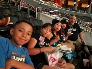 Hernando attended Los Angeles Sparks vs. Dallas Wings - WNBA on Jul 30th 2017 via VetTix