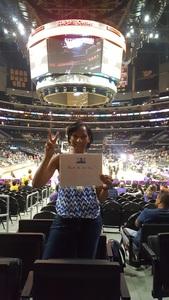 Shielda attended Los Angeles Sparks vs. Dallas Wings - WNBA on Jul 30th 2017 via VetTix