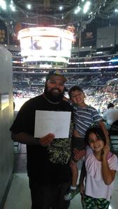 Joshua attended Los Angeles Sparks vs. Dallas Wings - WNBA on Jul 30th 2017 via VetTix