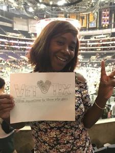 Antawnette attended Los Angeles Sparks vs. Dallas Wings - WNBA on Jul 30th 2017 via VetTix