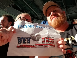 John attended 8 Tour - Incubus With Special Guests Jimmy Eat World and Judah and the Lion - Reserved Seats on Jul 23rd 2017 via VetTix