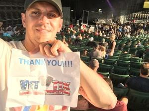 JAMES attended 8 Tour - Incubus With Special Guests Jimmy Eat World and Judah and the Lion - Reserved Seats on Jul 23rd 2017 via VetTix