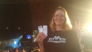 LORI attended 8 Tour - Incubus With Special Guests Jimmy Eat World and Judah and the Lion - Reserved Seats on Jul 23rd 2017 via VetTix