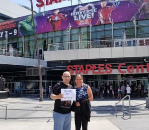 Roy attended Marvel Universe Live! Age of Heroes - Tickets Good for Sunday 3: 00 Pm Show Only on Jul 9th 2017 via VetTix