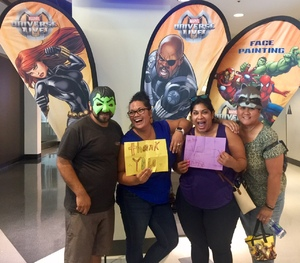 Tina attended Marvel Universe Live! Age of Heroes - Tickets Good for Sunday 3: 00 Pm Show Only on Jul 9th 2017 via VetTix