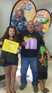 George attended Marvel Universe Live! Age of Heroes - Tickets Good for Sunday 3: 00 Pm Show Only on Jul 9th 2017 via VetTix