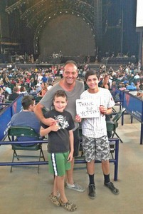 Sheena attended Nickelback - Feed the Machine Tour With Special Guest Daughtry and Shaman's Harvest on Aug 2nd 2017 via VetTix