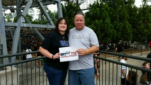 Richard attended Nickelback - Feed the Machine Tour With Special Guest Daughtry and Shaman's Harvest on Aug 2nd 2017 via VetTix