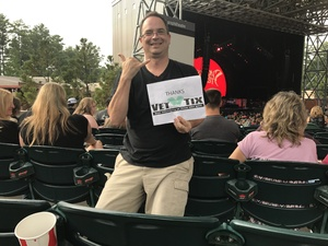 Derek attended Nickelback - Feed the Machine Tour With Special Guest Daughtry and Shaman's Harvest on Aug 2nd 2017 via VetTix