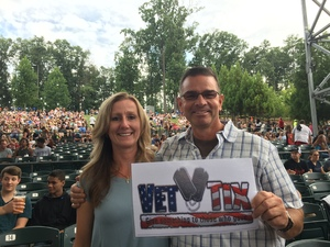Ronald attended Nickelback - Feed the Machine Tour With Special Guest Daughtry and Shaman's Harvest on Aug 2nd 2017 via VetTix