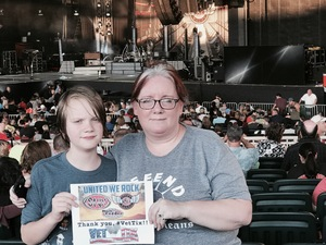 Starr attended United We Rock Tour 2017 - Styx and Reo Speedwagon With Don Felder - Reserved Seats on Jul 30th 2017 via VetTix