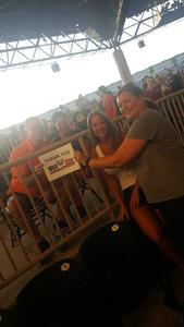 Stephanie attended United We Rock Tour 2017 - Styx and Reo Speedwagon With Don Felder - Reserved Seats on Jul 30th 2017 via VetTix