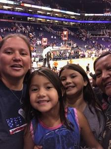Teresa attended Phoenix Mercury vs. Atlanta Dream - WNBA on Jul 12th 2017 via VetTix
