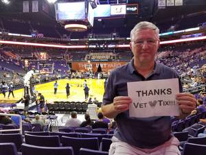 PhilR9 attended Phoenix Mercury vs. Atlanta Dream - WNBA on Jul 12th 2017 via VetTix