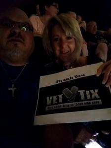 Israel attended Daryl Hall and John Oates and Tears for Fears With a Special Acoustic Performance by Allen Stone on Jul 17th 2017 via VetTix