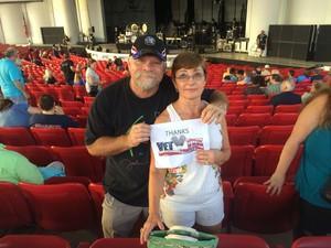 Robert attended Yestival - Yes, Todd Rundgren and Carl Palmer's ELP Legacy on Aug 12th 2017 via VetTix