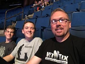 David attended PBR - Built Ford Tough Series - Sunday Only on Aug 13th 2017 via VetTix