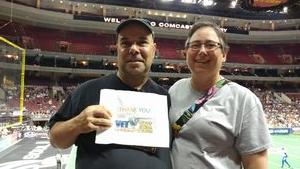 John attended Philadelphia Soul vs. Tampa Bay Storm - AFL on Aug 5th 2017 via VetTix