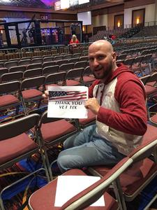 Christopher attended Ces MMA - Mixed Martial Arts - Presented by Classic Entertainment Sports on Aug 11th 2017 via VetTix