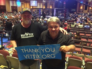 Bruce attended Ces MMA - Mixed Martial Arts - Presented by Classic Entertainment Sports on Aug 11th 2017 via VetTix