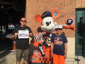 Charity attended Detroit Tigers vs. Pittsburgh Pirates - MLB on Aug 9th 2017 via VetTix