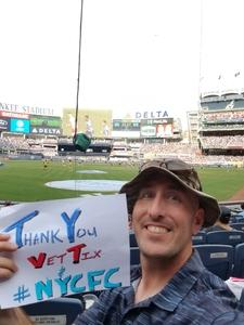 Chris attended New York City FC vs. New York Red Bulls - MLS on Aug 6th 2017 via VetTix