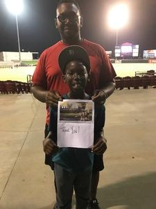 Robert attended Texas Airhogs vs. Cleburne Railroaders - American Association of Independent Professional Baseball on Aug 10th 2017 via VetTix