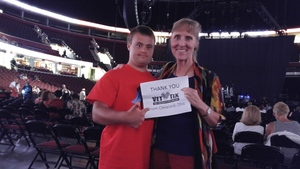 Gail attended Earth, Wind and Fire and Chic Ft. Nile Rodgers: 2054 the Tour on Jul 29th 2017 via VetTix