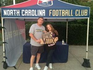 Michael attended North Carolina FC vs. Jacksonville Armada FC - NASL on Aug 12th 2017 via VetTix