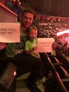 Andrew attended Marvel Universe Live! Age of Heroes - Tickets Good for Sunday 5: 00 Pm Show Only on Aug 6th 2017 via VetTix