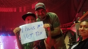 Cody attended Marvel Universe Live! Age of Heroes - Tickets Good for Sunday 5: 00 Pm Show Only on Aug 6th 2017 via VetTix
