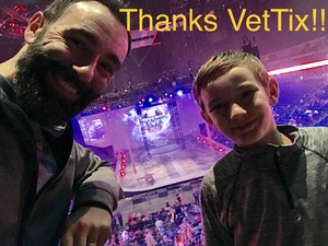 Jay attended Marvel Universe Live! Age of Heroes - Tickets Good for Sunday 5: 00 Pm Show Only on Aug 6th 2017 via VetTix