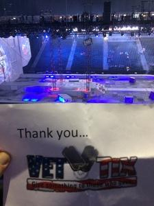 Kathy attended Marvel Universe Live! Age of Heroes - Tickets Good for Sunday 5: 00 Pm Show Only on Aug 6th 2017 via VetTix