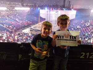Rick attended Marvel Universe Live! Age of Heroes - Tickets Good for Sunday 5: 00 Pm Show Only on Aug 6th 2017 via VetTix