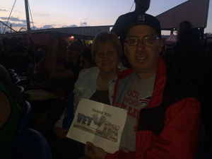 Mike attended Goo Goo Dolls: Long Way Home Summer Tour With Phillip Phillips - Reserved Seats on Aug 12th 2017 via VetTix