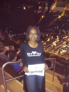 Mayra attended Earth, Wind and Fire and Chic Ft. Nile Rodgers: 2054 the Tour on Aug 7th 2017 via VetTix