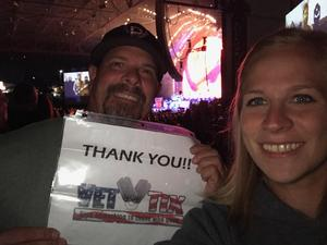 Paul attended Nickelback - Feed the Machine Tour With Special Guest Daughtry and Shaman's Harvest - Reserved Seats on Aug 7th 2017 via VetTix