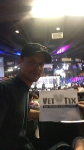 Anthony attended American Family, Tecate & Iron Boy Promotions Presents Iron Boy MMA 7 on Aug 12th 2017 via VetTix