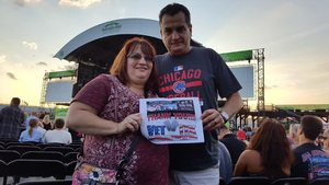Sean attended 40th Anniversary Tour - Foreigner With Cheap Trick and Jason Bonham's Led Zeppelin Experience - Reserved Seats on Aug 9th 2017 via VetTix