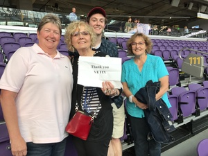 JoDene attended Coldplay: a Head Full of Dreams Tour - Live in Concert on Aug 12th 2017 via VetTix