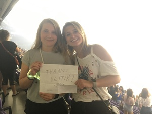 Steve attended Coldplay: a Head Full of Dreams Tour - Live in Concert on Aug 12th 2017 via VetTix