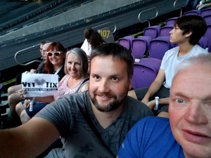 Michael attended Coldplay: a Head Full of Dreams Tour - Live in Concert on Aug 12th 2017 via VetTix
