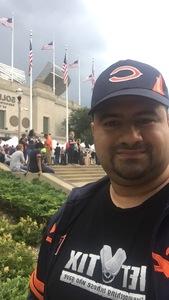 Guadalupe attended Chicago Bears vs. Denver Broncos - NFL Preseason on Aug 10th 2017 via VetTix