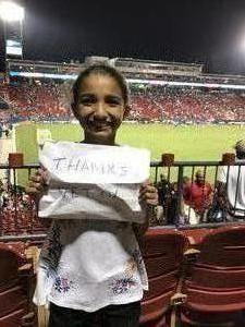 angel attended FC Dallas vs. Colorado Rapids FC - MLS on Aug 12th 2017 via VetTix