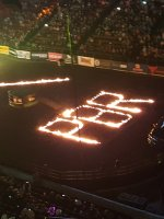 Jason attended PBR: Built Ford Tough Invitational on Jan 29th 2016 via VetTix