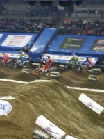 Eric attended Amsoil Arenacross - Friday Only on Feb 5th 2016 via VetTix