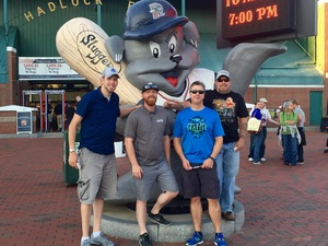 Matthew attended Portland Sea Dogs vs. New Hampshire Fisher Cats - MILB on Aug 23rd 2016 via VetTix