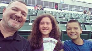 Brian attended Portland Sea Dogs vs. Trenton Thunder - MILB on Aug 25th 2016 via VetTix